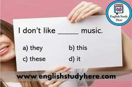 I am English grammar teacher