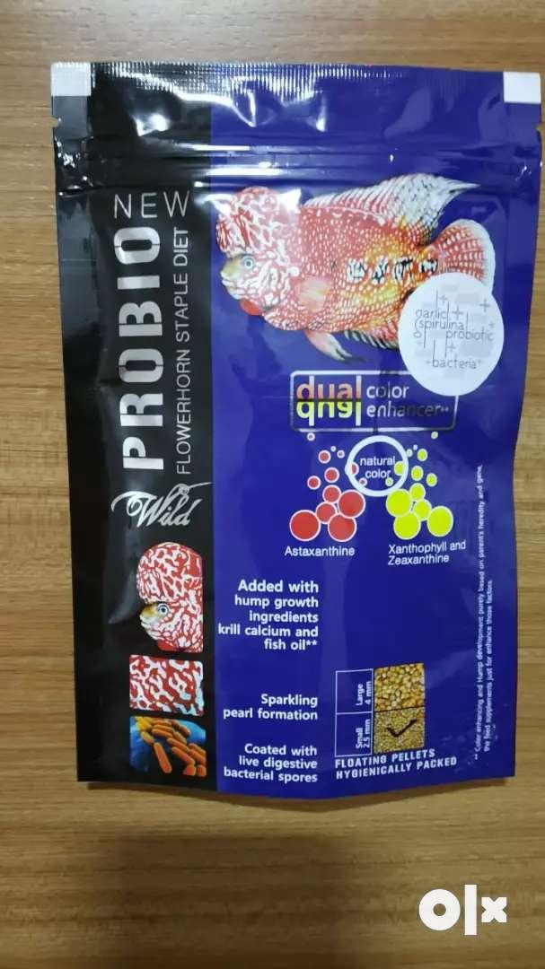 Flowerhorn fish food 0