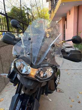 Triumph Tiger 800 XR with Arrow Exhaust