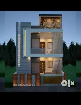 150guj 2 story house in focal point, commercial area ludhiana.