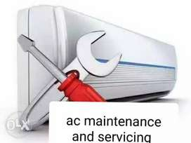 Ac repairs and maintenance and servicing