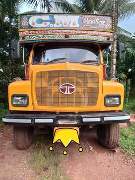 Tata Lorry turbo 1613: Red stone lorry : latterite stone lorry