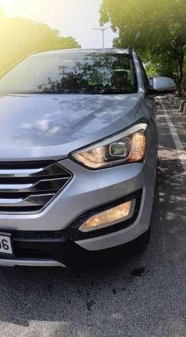 Hyundai Santa Fe 2WD AT, 2015, Diesel