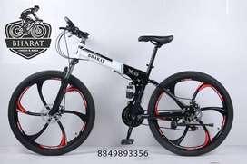 X6 Foldable Bharat Cycle, 21 Gears Brand New Hybrid 2021