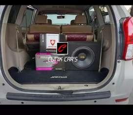 (••,) power cubig swissline, subwoofer dan speaker 2way cubig aulux