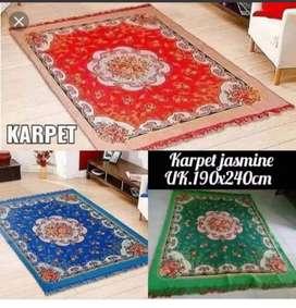 Karpet Jasmine Mewah ready merah,ungu