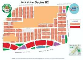 DHA Multan plot available in sector B1