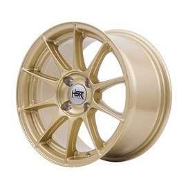 Ready stock HSR Pool R15x7/8 H4x100 gold