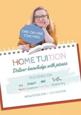 Online or home tution teacher