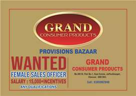 Female sales officer wanted