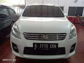 Suzuki Ertiga GL AT 2014 Putih Warna Favorit