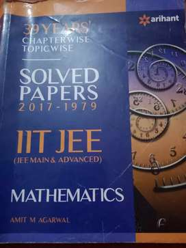 IIT JEE Mathematics 39  years Solved Papers