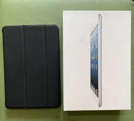 iPad Mini 1 1st gen Wifi + Cellular 32GB White MULUS FULLSET NORMAL