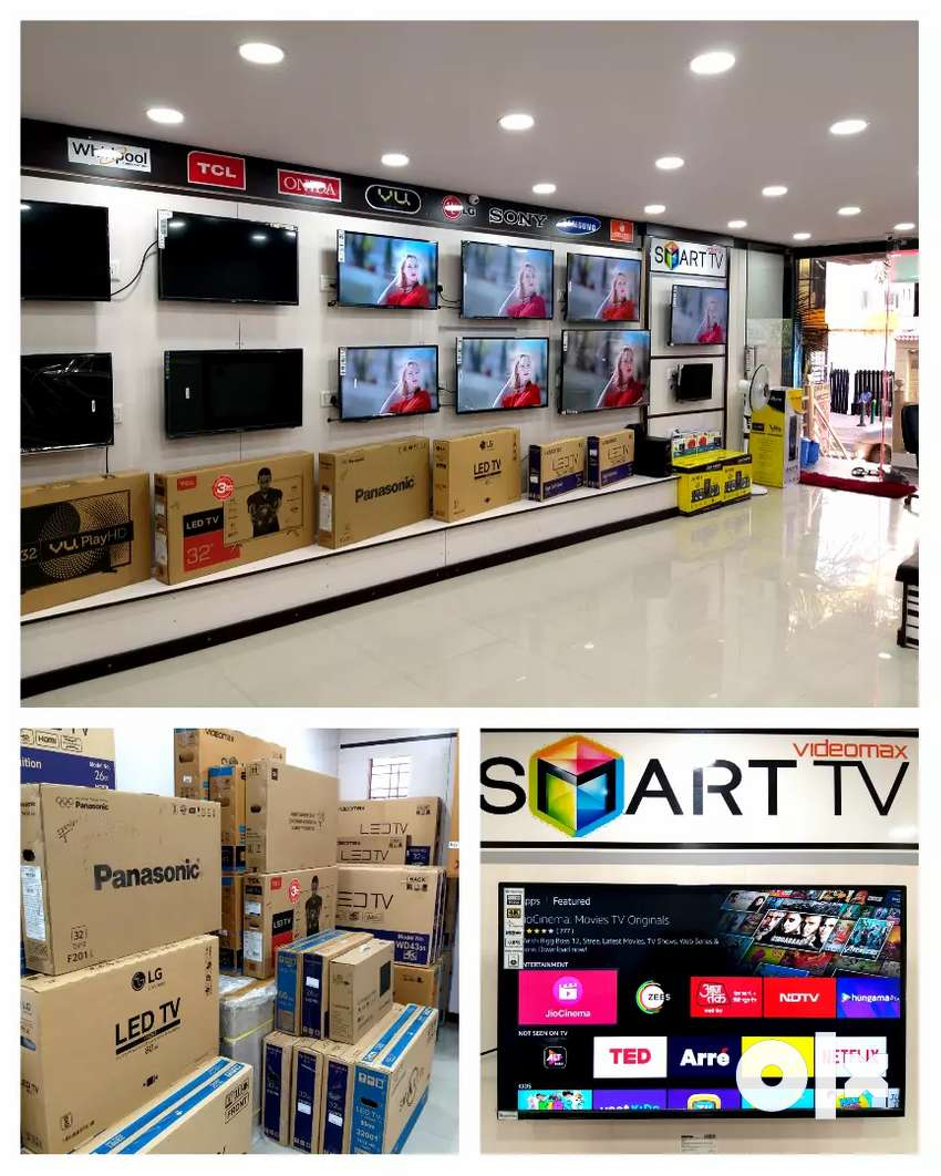 TV showroom discount offer all LED TVs with warranty 0