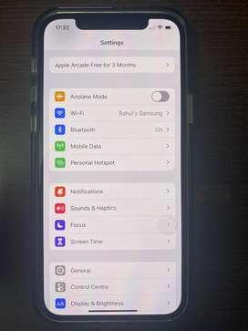iphone 12 pro under warranty (256 GB, Silver)