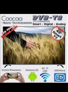 Harga Super Promo Coocaa 43TB5000 LED TV 43 Inch Smart TV FHD