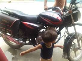 Brand new condition bajaj discover motorcycle