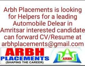 Looking for Helpers
