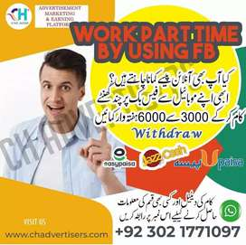 Online data entry job for part time.