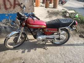 Honda 125 2003 exchange possible