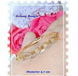 Xuping gelang pita gold