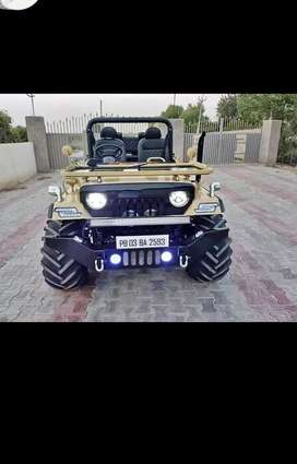 Full modified Jeep ready your booking to All States transfer. s