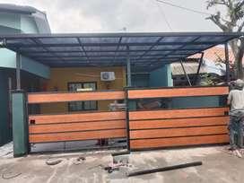 TetMurah! Pemasangan Kanopi atap polycarbonate-06