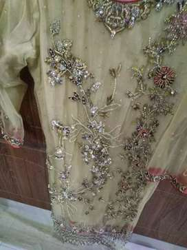 Party wear dress with good work..