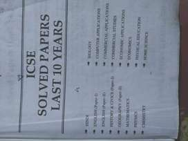 10 years ICSE solved papers (2007-2016)