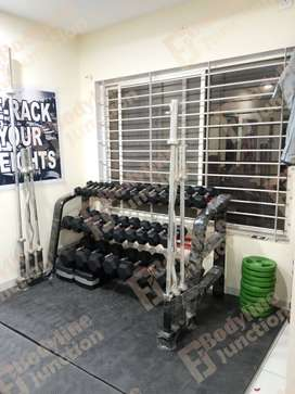 	Best gym Equipment setup with impoted look& heavy duty.
