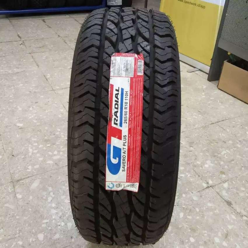 Ban GT Radial lebar 265/60 R18 Savero AT Plus Pajero Fortuner 0