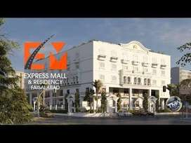 Express mall and residency