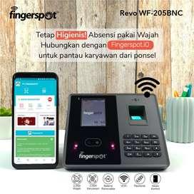 Fingerspot Revo WF-205BNC, Mesin Absensi Support WIFI