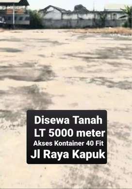 Disewakan tanah 5000 mtr jl raya kapuk dkt daan mogot grogol palmerah