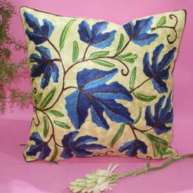 Cushion cover hand embriodered
