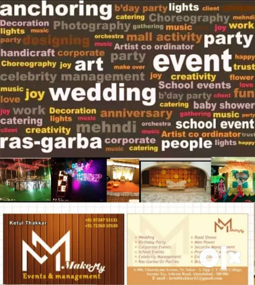All kind of event management & Man power saplayar. 0