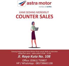 Sales Honda Astra