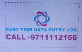 OFFLINE/Online Data Entry Job Part Time WORK ON MS.WORD- 97IIII2166