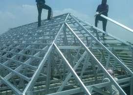 layanan penyelesaian atap baja ringan CIPTAKAN ESTETIKA RUMAH ANDA