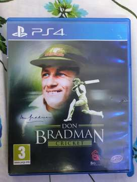 Don bradman cricket ps4 game