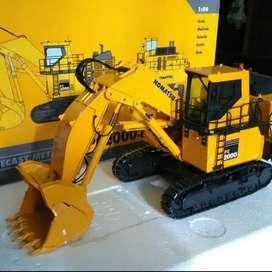 Diecast Miniatur Komatsu Excavator PC2000 Front Shovel