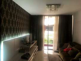 Di jual Apartemen taman rasuna 3 BR , full furnish