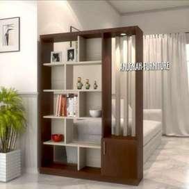 ANUGRAH-FURNITURE,Sekat ruangan mewah HPL minimalis.
