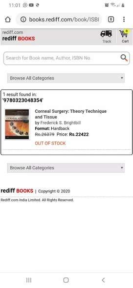 Corneal surgery (frederick s. Brightbill) book