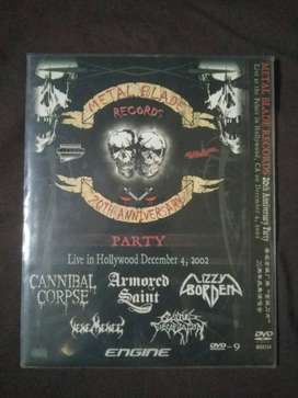 DVD HK Metal Blade Record - Live in Hollywood