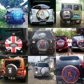 Cover ban Rush/Crv/Katana/Escudo/taft ford#sarung/tutup ban dobel jahi