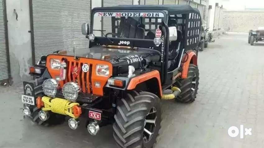 Rajinder motors Full modified Jeep ready 0