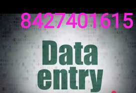 Create dat for money revenue our company providing data entry work
