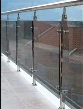 Sartika stel $5274 balkon stainlis kaca sepex elegan bandung juarah
