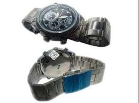 Kamera Jam Silver Watch 8 GB Garis